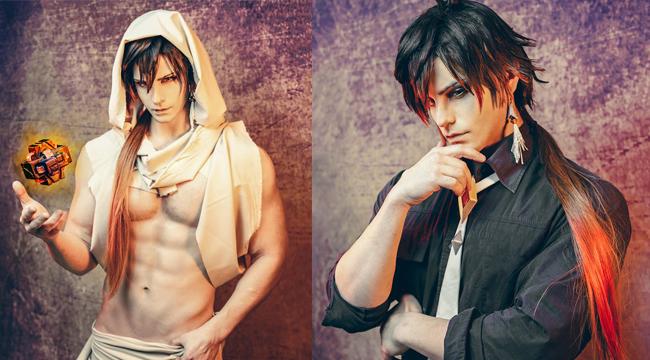 """Genshin Impact: Choáng ngợp với cosplay Zhongli phiên bản """"max damage"""""""