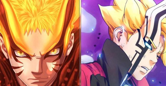 Boruto là vật chủ Momoshiki chỉ là hình thức parody tệ hại lại của Naruto và Cửu Vĩ