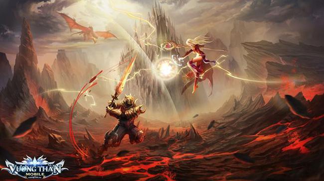 Vương Thần Mobile – cuộc chiến tranh đấu giữa Thần Ma đã mở đăng ký