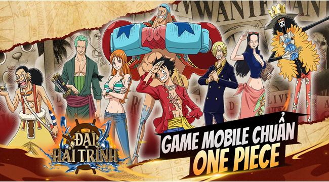 Đại Hải Trình Mobile – game đấu tướng One Piece chuẩn bị ra mắt game thủ Việt