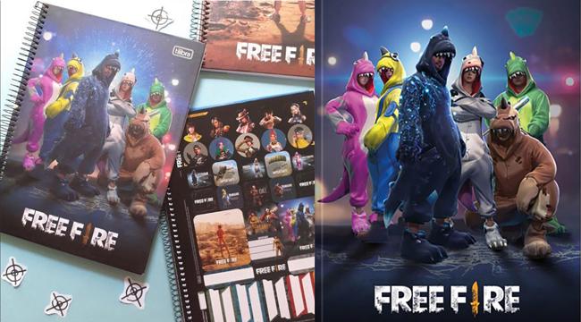 Brazil mở bán sổ tay Free Fire với thiết kế cực kỳ bắt mắt