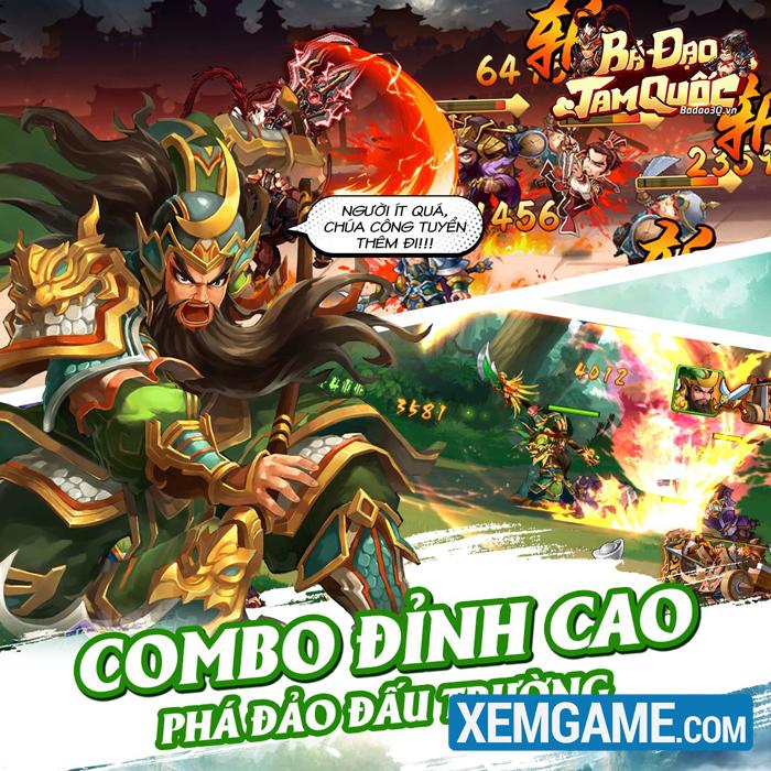 Bá Đạo Tam Quốc | XEMGAME.COM