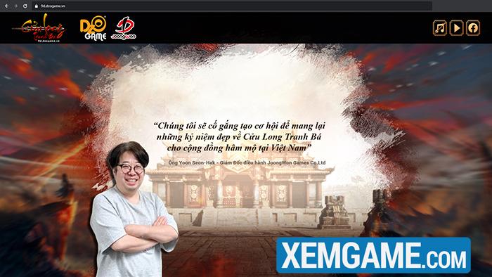 Cửu Long Tranh Bá Dzogame | XEMGAME.COM