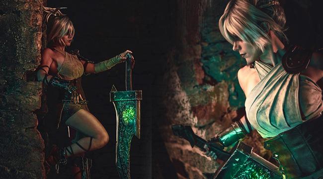LMHT Cosplay: Vẻ mạnh mẽ không thể rời mắt của Riven Awaken