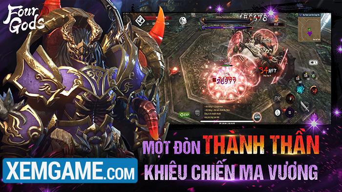 Tứ Hoàng Mobile | XEMGAME.COM
