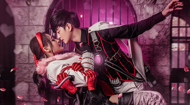 Free Fire: Tan chảy với sắc hồng ngọt ngào trong cosplay Valentine