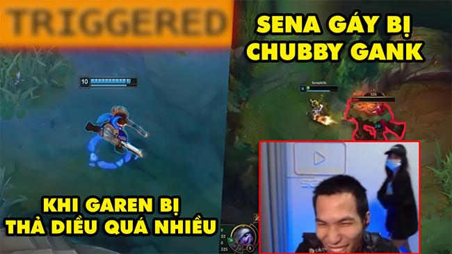 TOP khoảnh khắc điên rồ nhất LMHT 106: Khi Garen bị thả diều quá nhiều, Sena gáy bị Chubby gank