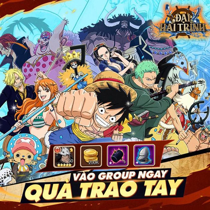 Chơi Đại Hải Trình mobile có cảm giác như đang xem lại anime One Piece vậy