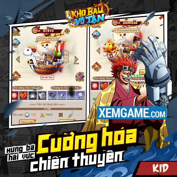 Kho Báu Vô Tận Mobile | XEMGAME.COM