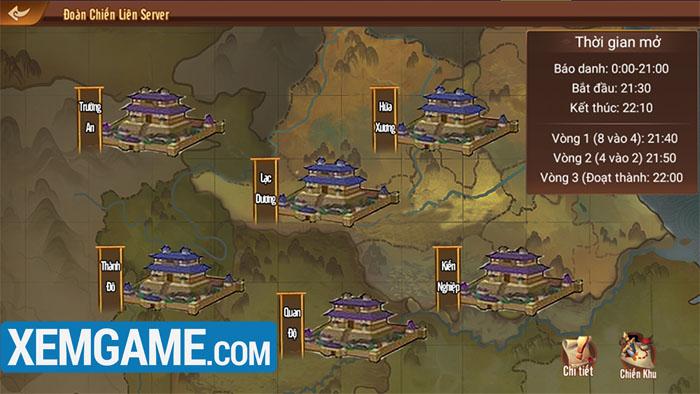 Game thủ sẽ thoải mái so tài, chinh chiến liên server trong Long Tướng 3Q