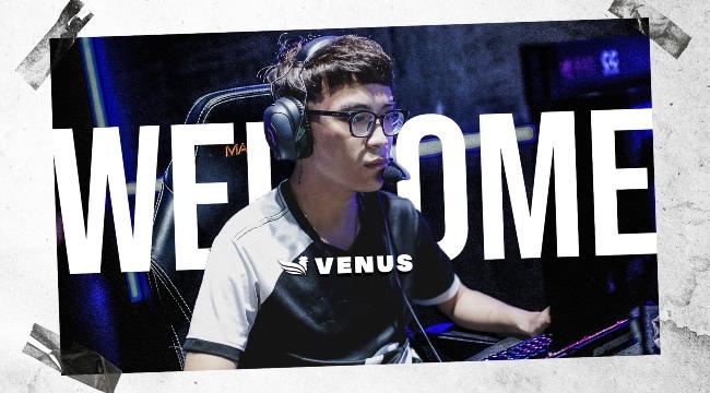 LMHT: Venus gia nhập SBTC Esports, tái hợp cặp bài trùng cùng Celebrity