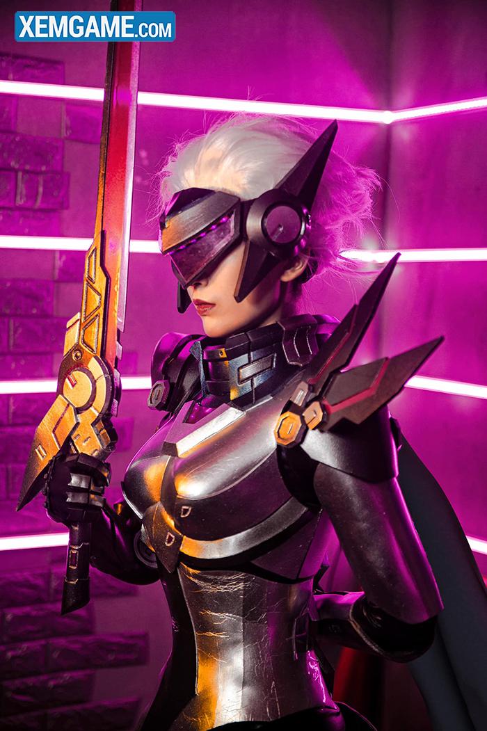 LMHT cosplay: Mãn nhãn với vẻ uy quyền của Fiora Siêu Phẩm