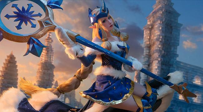 LMHT cosplay: Tan chảy với vẻ đẹp dịu dàng của Soraka Mùa Đông Kỳ Diệu