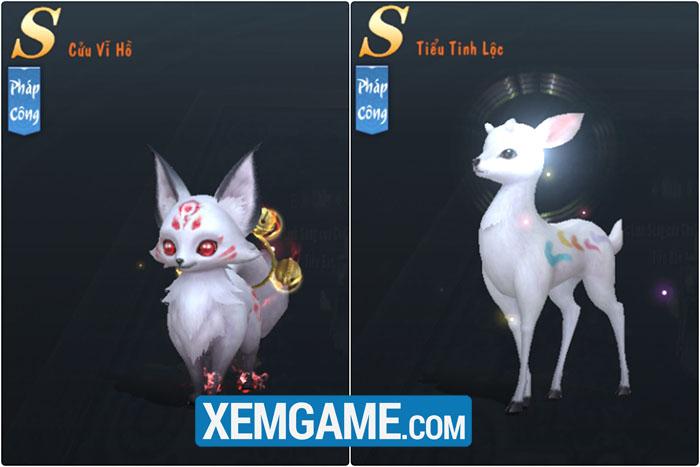 Tuyết Ưng VNG  tặng hàng loạt pet khủng nhân ngày ra mắt phiên bản mới