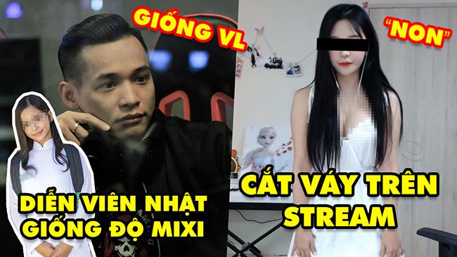 Stream Biz #55: Độ Mixi phản ứng về diễn viên Nhật Bản giống mình – Nữ streamer cắt váy trên sóng