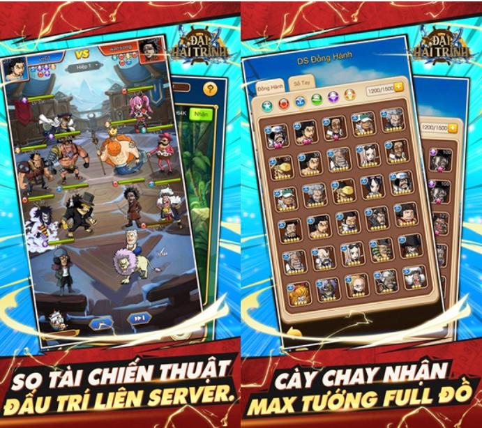 Nhân dịp Đại Hải Trình mobile ra mắt, NPH tặng 250 giftcode siêu khủng cho game thủ