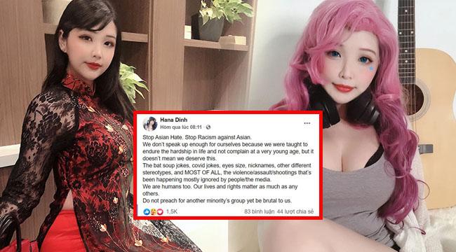 Nữ cosplayer gốc Việt tức giận, kêu gọi chống lại nạn phân biệt chủng tộc