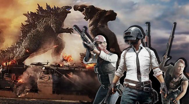 PUBG Mobile hợp tác với bom tấn điện ảnh Godzilla vs. Kong
