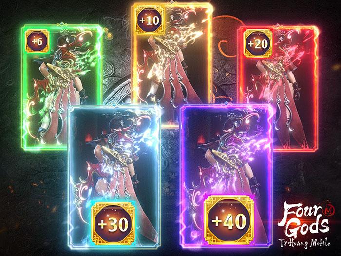 Tứ Hoàng Mobile: Thoải mái chế đồ, giao dịch tự do là những điểm khiến game thủ thích mê