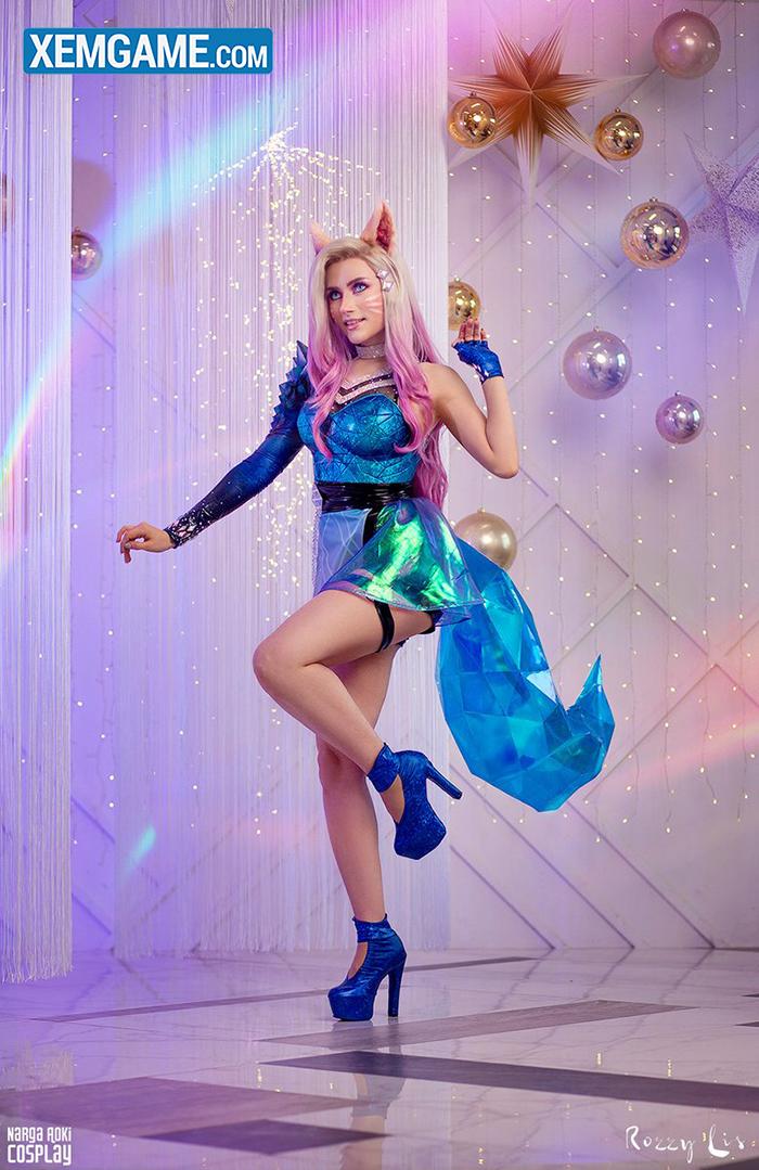 LMHT cosplay: Vẻ sang chảnh đầy thời thượng của Ahri K/DA