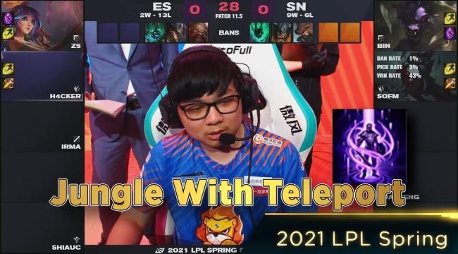 LMHT: SofM mang Kayn Dịch Chuyển vào giải, Suning thắng dễ eStar