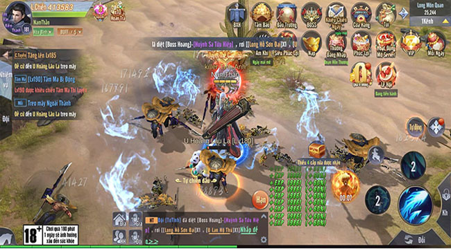 Tân Giang Hồ Truyền Kỳ – MMO kiếm hiệp mobile với đồ họa xuất sắc HD