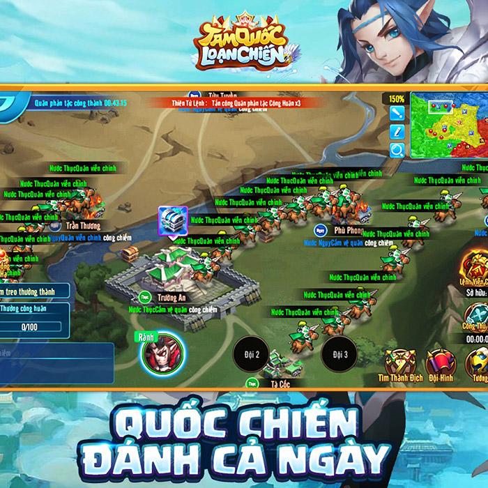 Tam Quốc Loạn Chiến Funtap - game 3Q đồ họa độc dị chuẩn bị cập bến