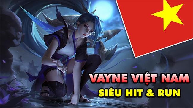 LMHT: Lác mắt với Boy One Champ Vayne Việt Nam siêu hit & run phê lòi