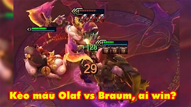 ĐTCL: Olaf X3 Huyết Kiếm vs Braum X3 Giáp Gai cực căng – Ai sẽ win?