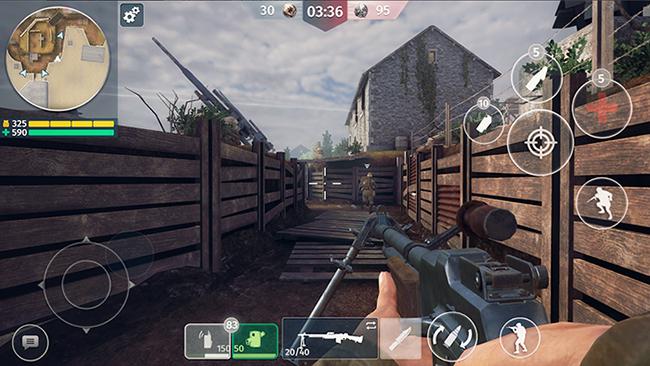 World War 2 – Battle Combat: FPS với đồ họa tuyệt hảo trên mobile