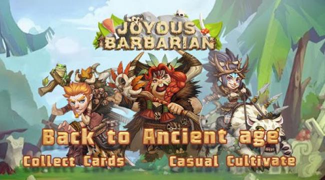 Joyous Barbarian – trở về thời tiền sử và chiến đấu cùng bộ lạc của mình