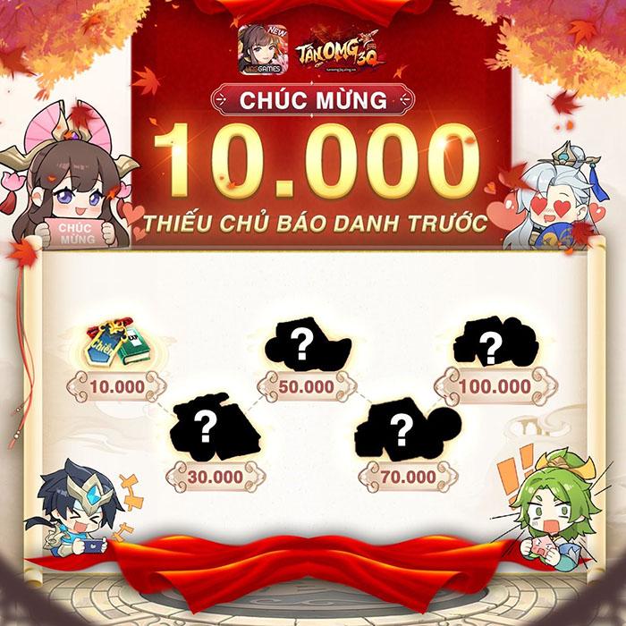 Tân OMG3Q VNG vượt mốc 30.000 lượt đăng ký trước