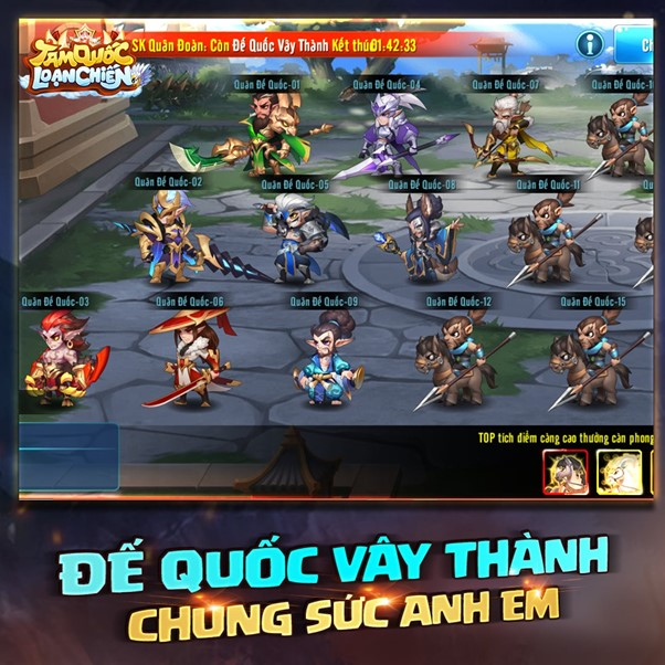 NPH Funtap úp mở ra mắt Tam Quốc Loạn Chiến mobile cực độc ngay trong tháng 04 này