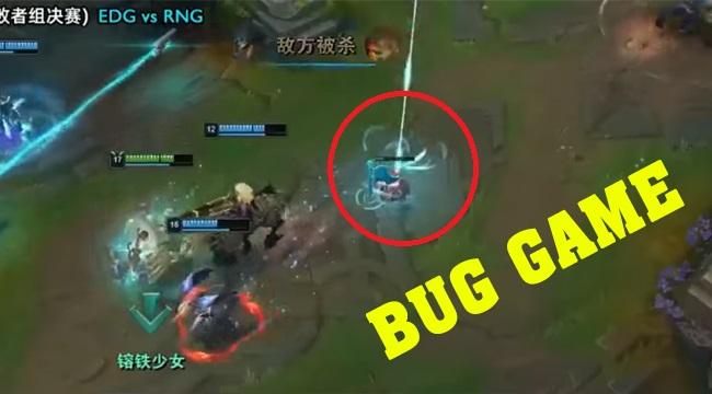 """LMHT: Hóa ra nhờ bug game mà EDG mới có thể ăn """"may"""" được một ván trước RNG"""