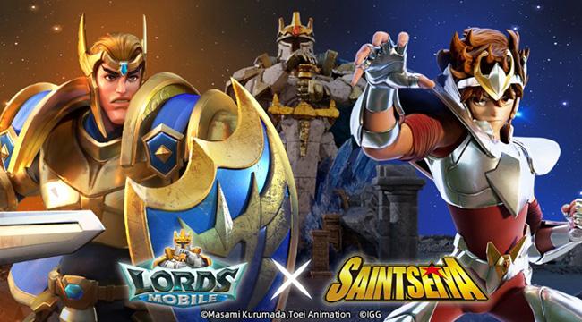 Sự kết hợp IP giữa Lords Mobile X Saint Seiya: Hợp tác đầu tiên của Lords Mobile và IP Anime nổi tiếng