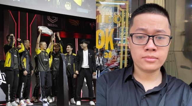 Giám đốc Izumin giữ đúng lời hứa, xuống tóc ăn mừng GAM vô địch VCS