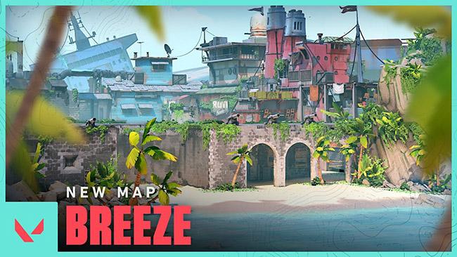 Bản đồ Breeze – thứ sẽ xuất hiện trong Valorant Act 3 chính thức lộ diện