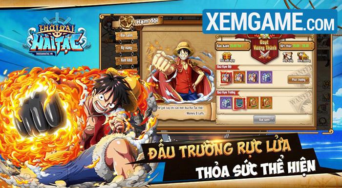 Thời Đại Hải Tặc GOSU có gameplay đấu tướng đậm chất One Piece