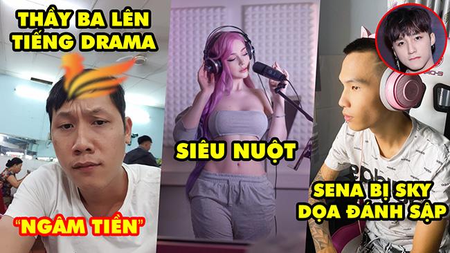 Update LMHT: Thầy Giáo Ba lên tiếng về drama của Ba Tú, Sena bị đại gia đình Sky dọa report sập kênh