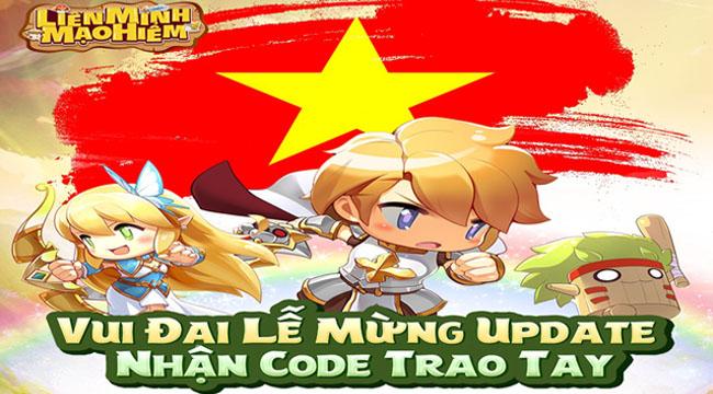 Tặng 333 giftcode Liên Minh Mạo Hiểm nhân dịp Big Update