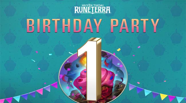 Huyền Thoại Runeterra tổ chức livestream mừng sinh nhật 1 tuổi