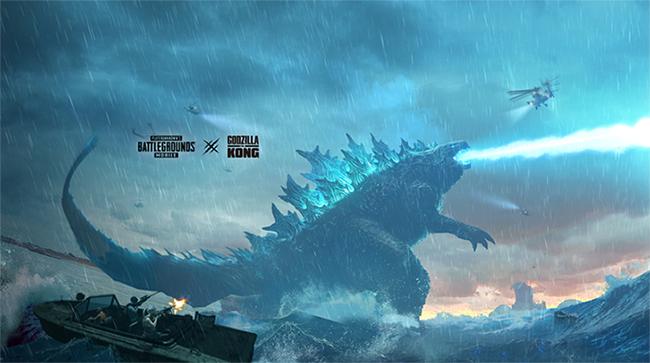 PUBG Mobile cho người chơi thấy Godzilla vs Kong trong bản 1.4 sắp tới