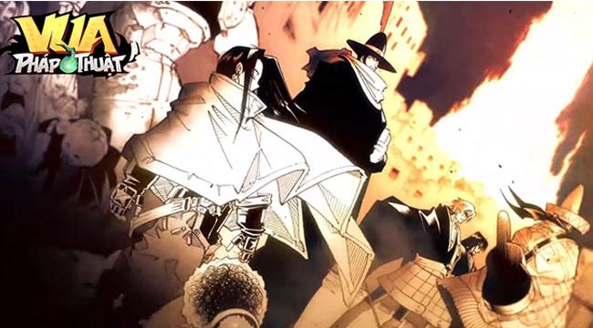 Vua Pháp Thuật GOSU – tựa game đấu tướng dựa trên manga nổi tiếng Shaman King sắp ra mắt