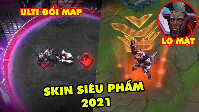 Phát cuồng với Skin Siêu Phẩm 2021 max khủng trong LMHT: Mordekaiser Ulti đổi map, Renekton lộ mặt