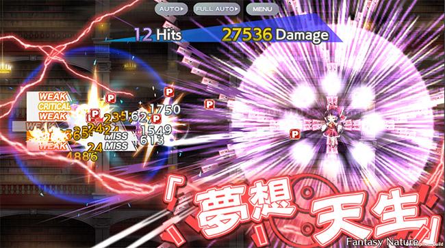 Touhou LostWord: game bullet hell chuyển mình sang thể loại đấu tướng vừa cập bến mobile