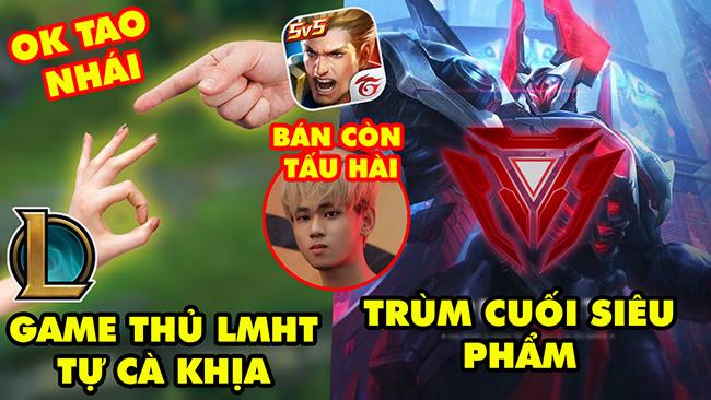 Update LMHT: Chán VETV game thủ tự cà khịa game nhái, Trùm cuối Siêu Phẩm, SBTC tấu hài bán Yijin
