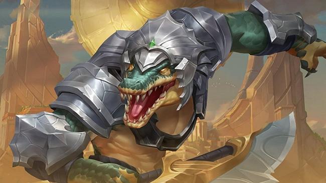 Hướng dẫn chơi Renekton Tốc Chiến, cá sấu cuồng nộ của Sa Mạc