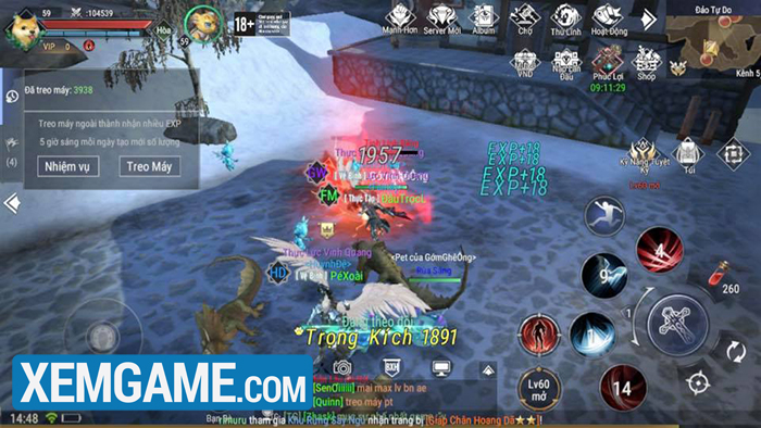 giftcode game Forsaken World: Thần Ma Đại Lục VNG
