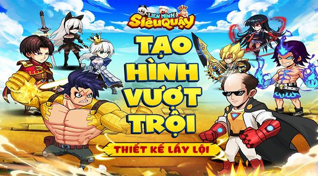 """Liên Minh Siêu Quậy – siêu phẩm của các thánh""""lầy lội"""" manga sẽ cập bến làng game Việt trong tháng 5"""