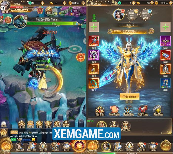 Game Phàm Nhân Mobile: Tu Tiên Lộ